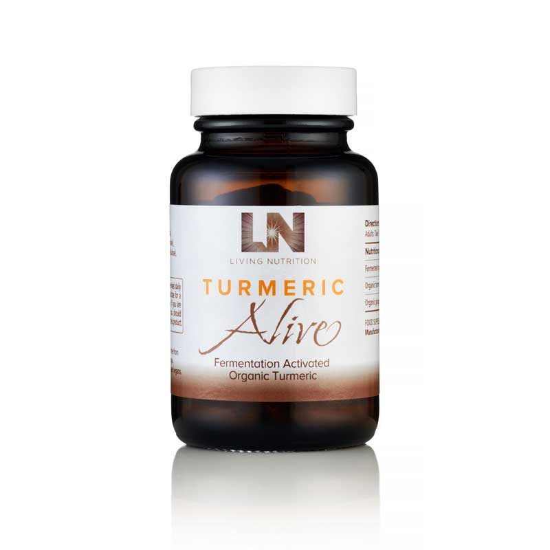 Living Nutrition Tumeric Herbal Supplements