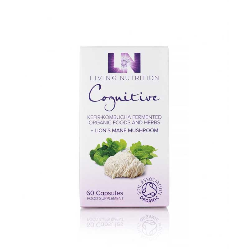 Living Nutrition Cognitive Kefir-Kombucha Fermented Herbal Supplements